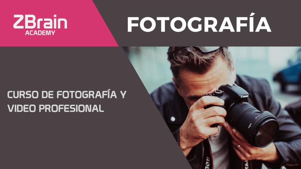 CURSO DE FOTOGRAFÍA Y VIDEO PROFESIONAL 1