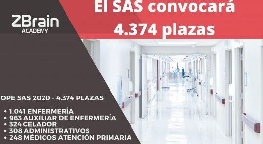 EL SAS CONVOCARÁ 4.374 PLAZAS 14