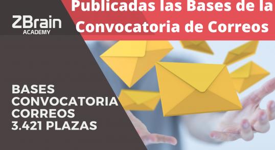 Oposiciones de Correos | Publicadas las bases de la Nueva Convocatoria 3