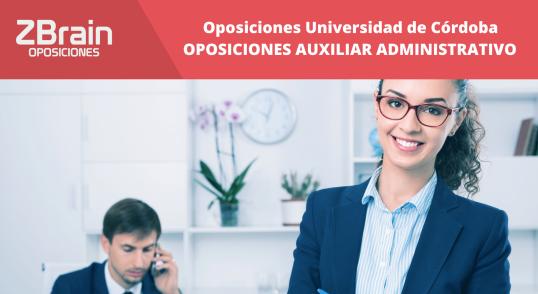 Universidad de Córdoba - Oposiciones Administrativo
