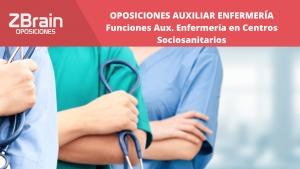 Trabajar en Centro Sociosanitario | Auxiliares de Enfermería 10