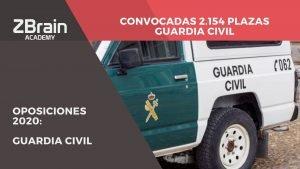 ¡Convocadas 2.154 plazas para Guardia Civil! 6