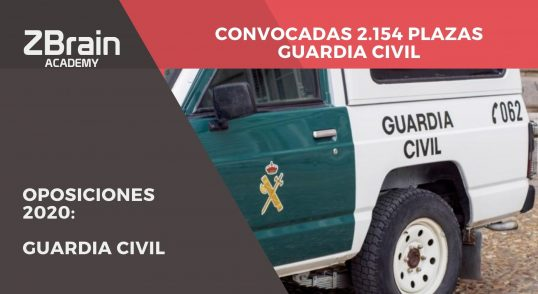 ¡Convocadas 2.154 plazas para Guardia Civil! 16