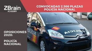 ¡Convocadas 2.366 plazas para Policía Nacional! 8