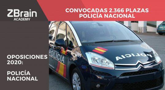 ¡Convocadas 2.366 plazas para Policía Nacional! 7