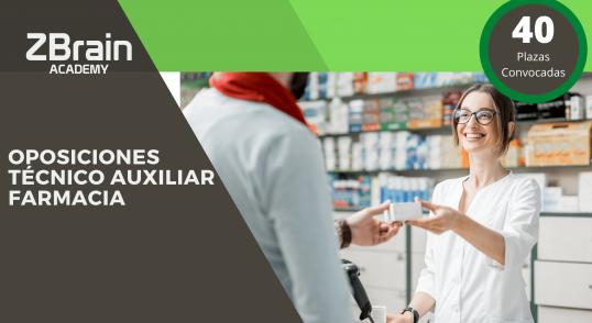 40 Plazas Oposiciones de Técnico Auxiliar de Farmacia en el Servicio Aragonés de Salud 3