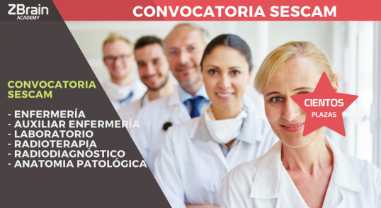 Convocatoria Servicio de Salud de Castilla-La Mancha (Sescam) 7