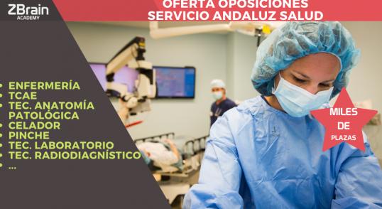 Ofertadas miles de plazas del Servicio Andaluz de Salud 3