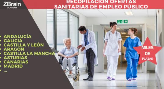 Recopilación ofertas sanitarias de empleo público 1