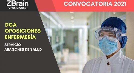 Oposiciones DGA Enfermería en Aragón