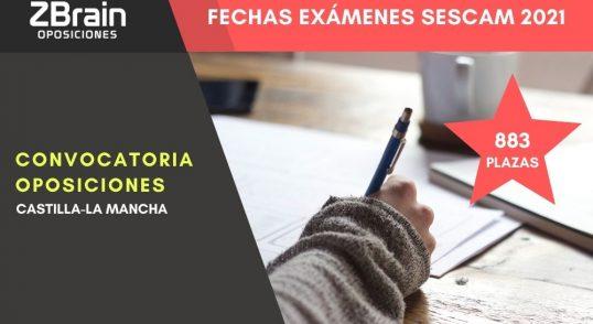 exámenes oposiciones SESCAM