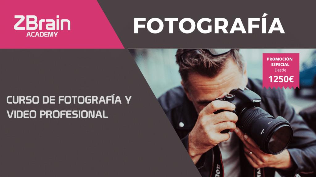 Curso de Fotografía y Vídeo profesional 1
